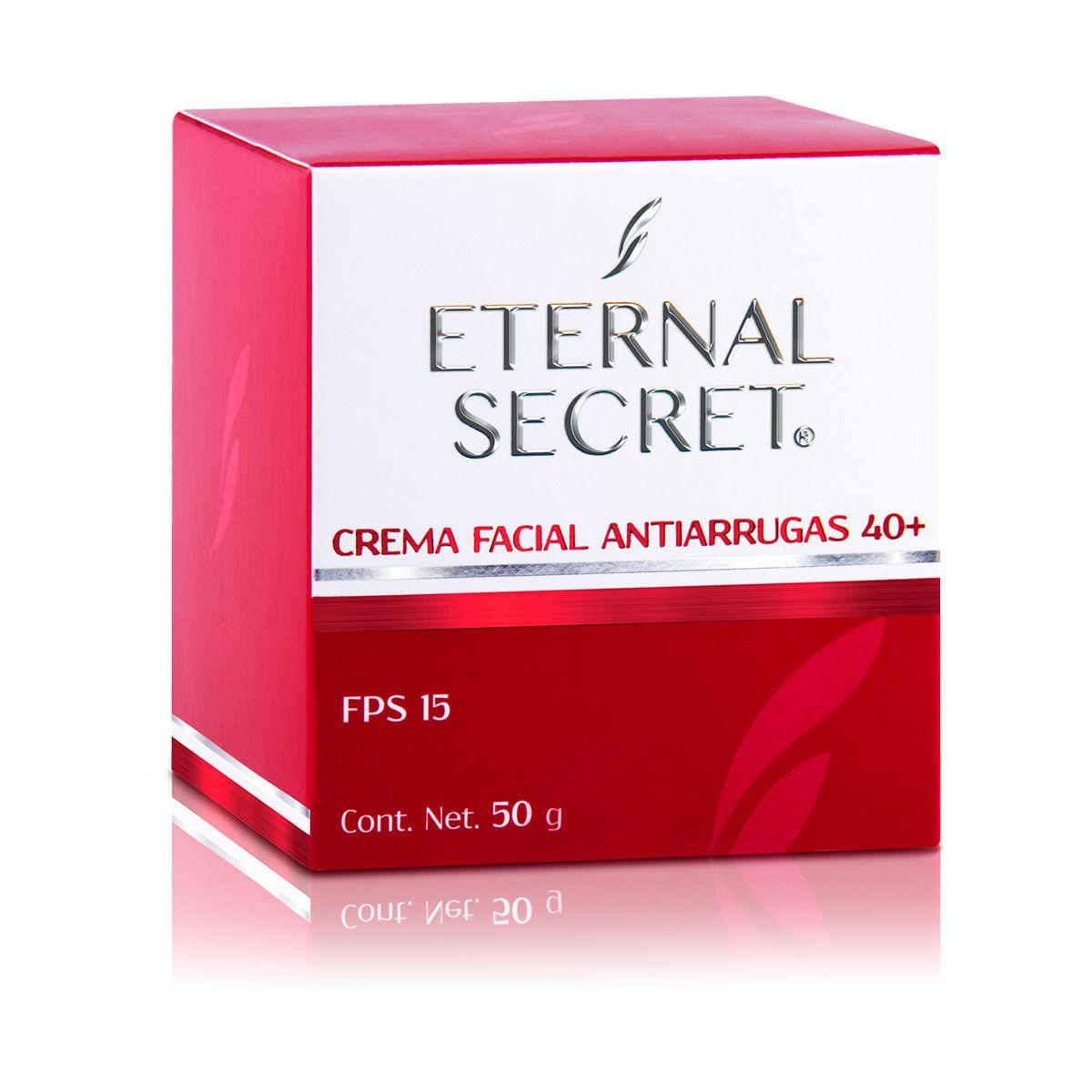 crema facial antiarrugas eternal secret